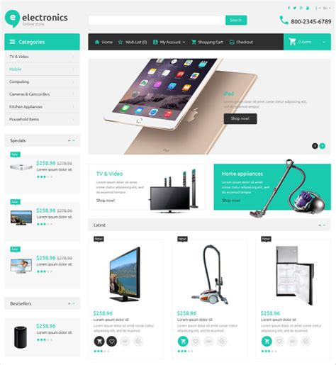 Free Ecommerce Template by 19 Ecommerce Bootstrap Themes Templates Free