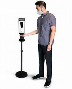 Touch-free Misting Hand Sanitizer Dispenser