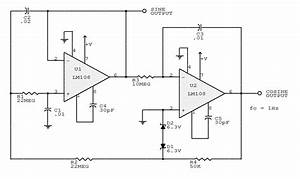 sine wave oscillator circuit page 2 oscillator circuits With adjustable high low frequency sine wave generator