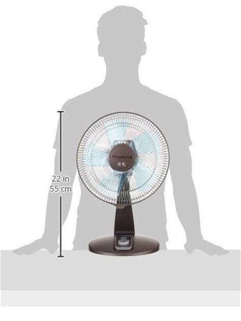 quietest table fan on the market rowenta vu2531 turbo silence oscillating 12 inch table fan