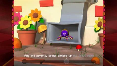 itsy bitsy spider story book  voice  kids