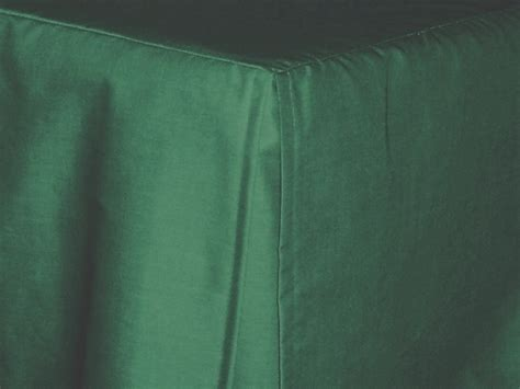 Hunter Green Tailored Bedskirt (for cribs and daybeds and