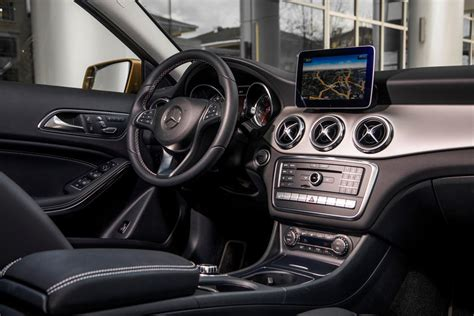The further up the range you go, the classier the interior looks thanks. 2020 Mercedes-Benz GLA-Class SUV Interior Photos | CarBuzz