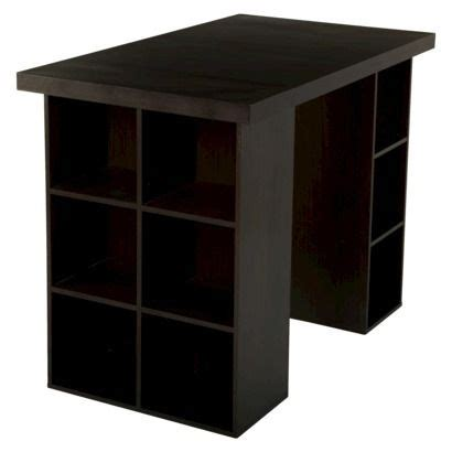 espresso counter height table tms counter height craft table espresso