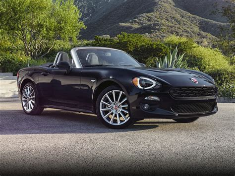fiat roadster new 2018 fiat 124 spider price photos reviews safety