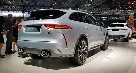 New Jaguar F-pace Svr Is Here For 2018
