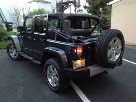 used jeep wrangler 4 door buy used 2008 jeep wrangler unlimited 4x4 sport