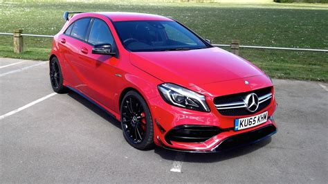 mercedes amg a45 mercedes amg a45 2016 review two minute road test motoring research