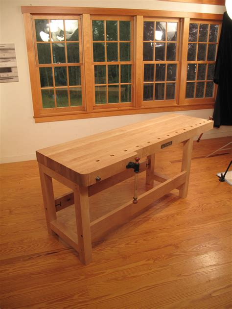 Woodworking Bench by New Workbench From Lie Nielsen Toolworks Popular