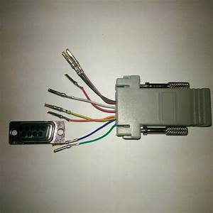 Rj45 To Db9 Console Adapter Wiring
