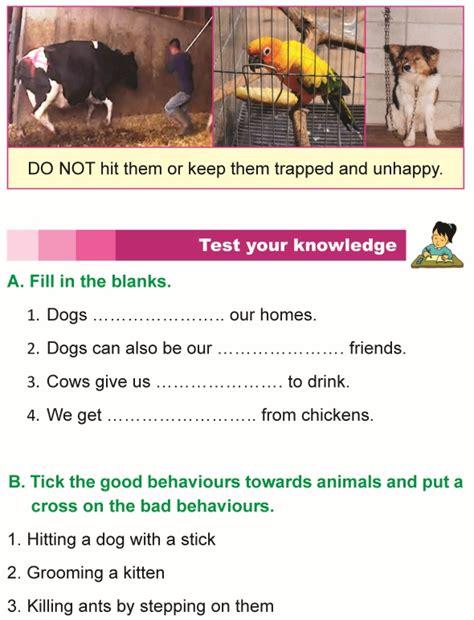 grade  science lesson   care  animals primary