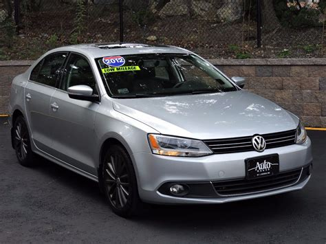 2012 Volkswagen Jetta Sel by Used 2012 Volkswagen Jetta Sedan Sel Wsunroof Pzev At Auto