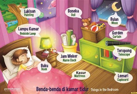 poster belajar benda   kamar tipe  mainan anak