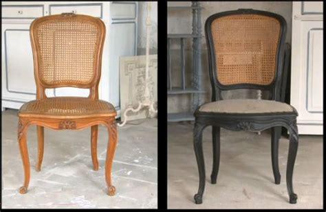 refaire une assise de chaise en bois idées de relooking transformation de meubles avant