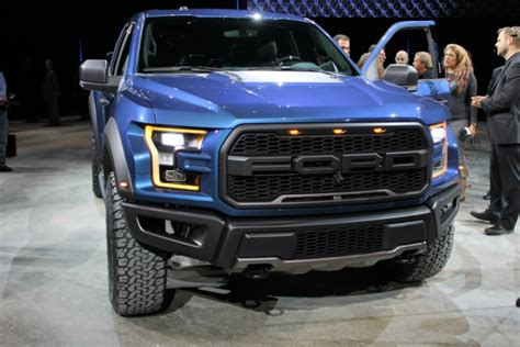 2017 Ford F-150 Raptor Truck Naias Debut