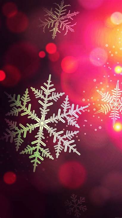 Iphone Holiday Wallpapers Bokeh Pattern Phone Winter