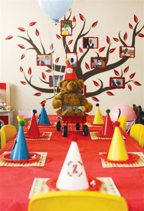 chambre à coucher garçon décoration table anniversaire pour la fête de votre enfant