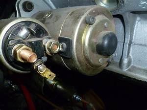 Rover V8 Starter Motor Wiring