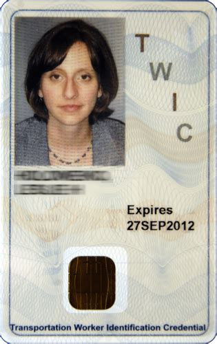 The transportation worker identification credential, also known as twic®, is required by the maritime transportation security act for u.s. File:TWIC ID Card.jpg