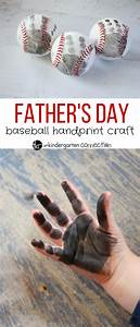 Father's Day Baseball Craft - The Kindergarten Connection