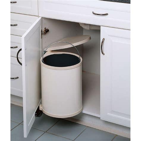 under cabinet trash bins under cabinet waste bin mf cabinets