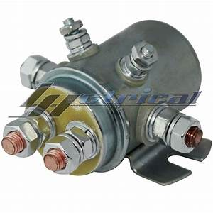 New Continuous Duty Switch Relay Solenoid For Autocrane