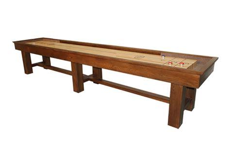 12 ft shuffleboard table ponderosa oak 12 foot shuffleboard table mcclure tables