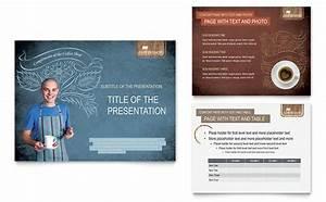 Free Brochure Template Word Coffee Shop Powerpoint Presentation Template Design