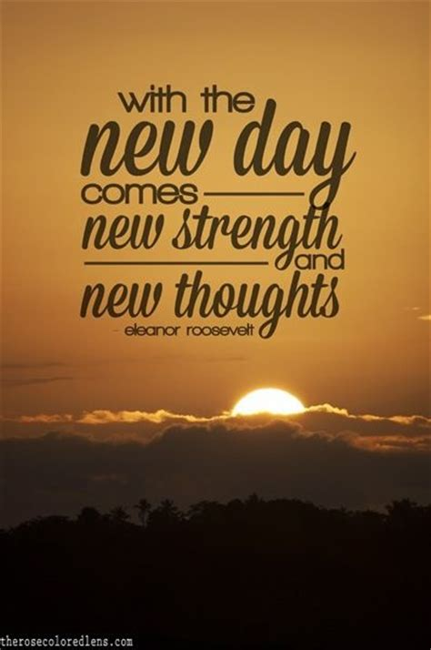 Its A Bright New Day Quotes