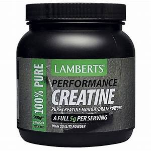Creatine 500g  The Natural Dispensary