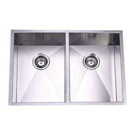 stainless steel undermount kitchen sink double bowl 29 inch stainless steel undermount 50 50 double bowl
