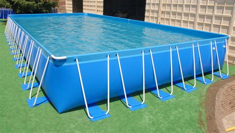 Deck Around Intex Pool by Above Ground Pools Soft Sided Best Warranty Around