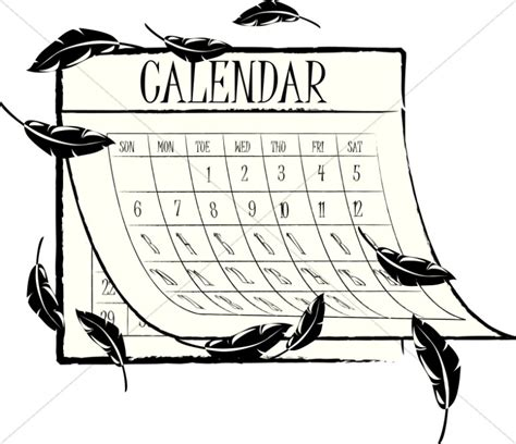 schedule clipart black and white free christian calendar clipart 14