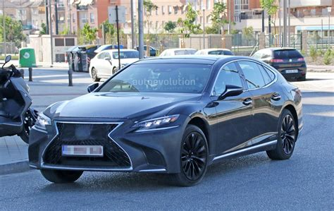 2019 Lexus Gs Turbo by Spyshots 2019 Lexus Ls F Spotted Could Pack Turbo