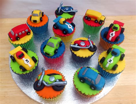 toy transport novelty cupcakes susies cakes