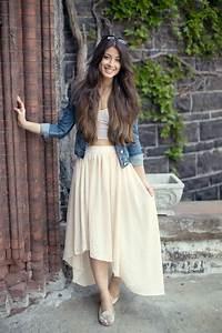 Crop Top + Flowy Skirt u2014 Mimi Ikonn