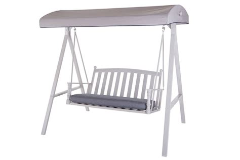 hton bay traditional swing with canopy the home depot