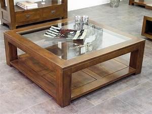 Table De Salon Holly Double Plateau Avec 1 Panneau En