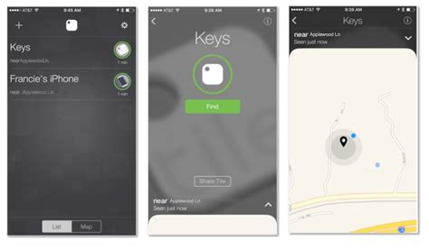 personal item tracking devices apps tile chipolo