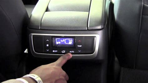 Brookdale Toyota by 2014 Toyota Highlander Rear Climate How To By