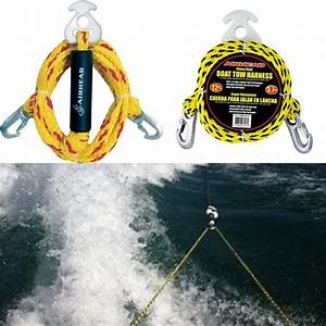 Multi Purpose Tow Rope Heavy Duty Y Harnes Tube Towable
