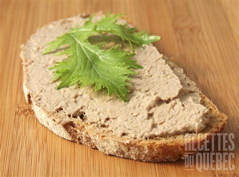 recette pate de foie de volaille p 226 t 233 de foie de poulet maison recettes du qu 233 bec