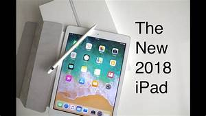 new ipad 2018 unboxing