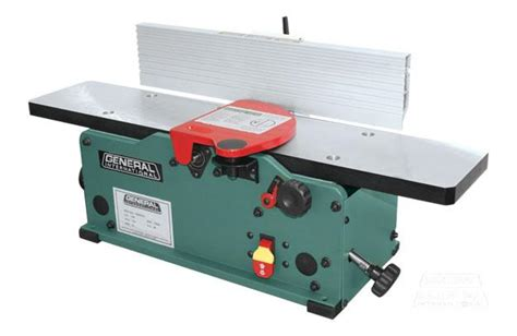 general  bench top jointer  helical cutter head