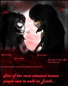 Jeff The Killer vs Jane The Killer Comic Cover by Helen ...