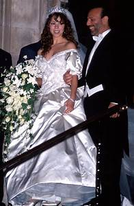 celebrity wedding dresses 44 of the most unforgettable With mariah carey wedding dress