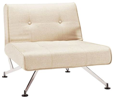 clubber chair khaki without arms modern