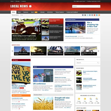News Themes Local News Theme Wpexplorer