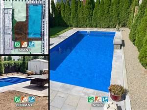 Photo D Amenagement Piscine : implantation d une piscine creus e jardin prestige ~ Premium-room.com Idées de Décoration