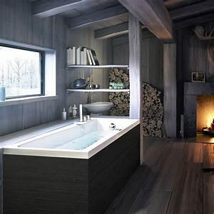 Fenster Abdichten Acryl : badewanne im badezimmer 24 erstaunliche designs ~ Frokenaadalensverden.com Haus und Dekorationen